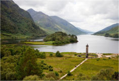 Ardachy Cottage Ballachulish - Glenfinnan Monument