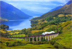 Ardachy Cottage Ballachulish - Glenfinnan Viaduct